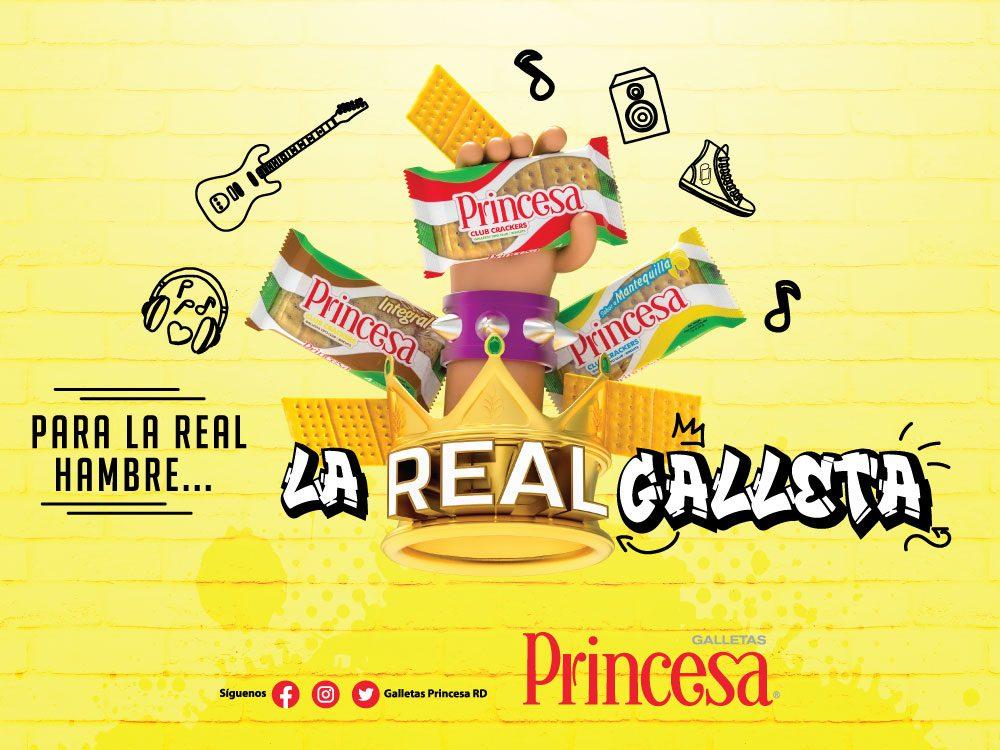 Galletas Princesa